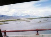 On the way to the city of Lhasa