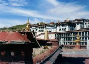 The city of Lhasa